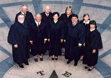 Tex. CCA | Official group photo of Texas Court of Criminal Appeals Justices